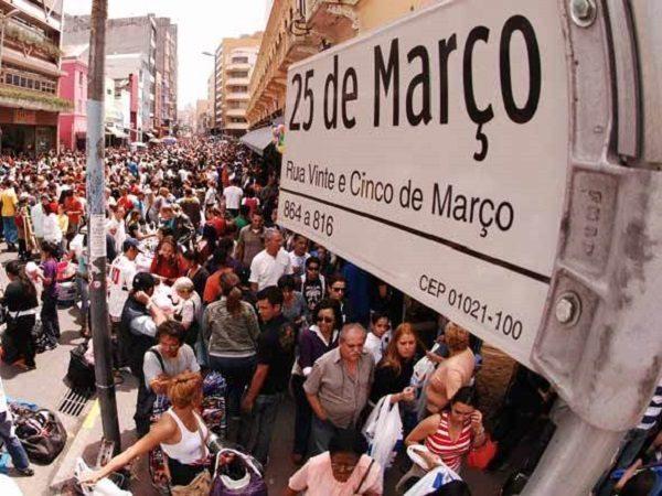 25 de março em São Paulo