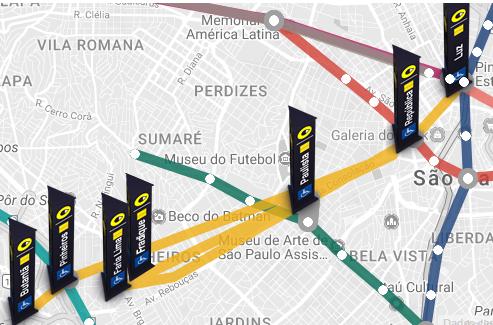 LINHA AMARELA - 16 lugares para conhecer usando a linha amarela do metrô de Sampa