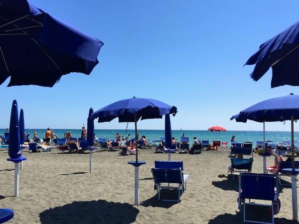 Praias proximo a Roma