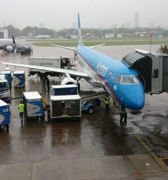 Aeroparque voltará a receber voos de países vizinhos