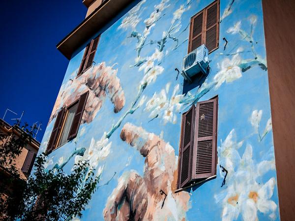 tor marancia 3 - A arte de rua em Tor Marancia - Roma diferente