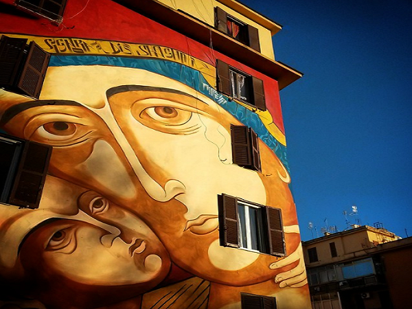 tor marancia 6 - A arte de rua em Tor Marancia - Roma diferente