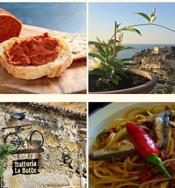Comida local – Calábria – Itália